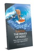 The waves of Agile - Value delivery in medium and large organizations (printed paperback)